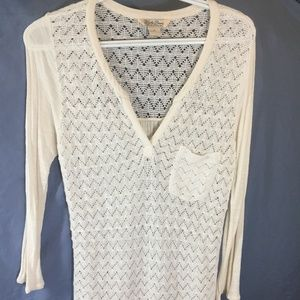 Crochet Knit Tunic